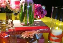 Party Theme:  Color / Color theme inspiration for Bar/Bat Mitzvahs, Birthdays, Sweet 16's