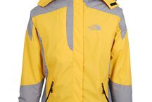 The North Face Gore Tex Pro Jacket Women Yellow/Grey