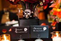 Halloween Wedding Ideas / Our favorite inspirations for fun and festive Halloween season weddings