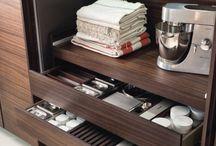 Kitchen details / Details of kitchen - drawers, cabinets, lighting, accesoires etc.