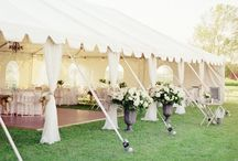 Marquees, interior & flowers / Marquees, flowers, vases, bars, table settings