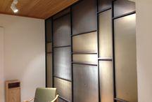 Pareti rivestite in metallo / Idee di arredo all'avanguardia: pareti rivestite in metallo, varie lavorazioni. By Penta Systems (www.pentasystems.it)