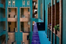 Edificios con color