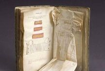 Old miniature dress book