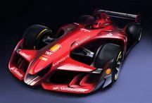 Concept car F1 and more / Le macchine del futuro