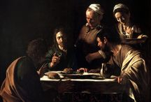 Caravaggio-supper at emmaus-