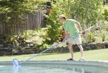 Pool maintenance / by Brita Bowers