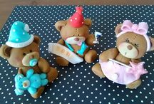Cake Toppers / handmade cupcake and cake toppers