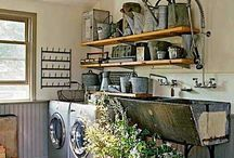 Laundry Room/Mud Room/ Entryway Ideas / by Jean Baethge