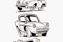Drawing vehicles