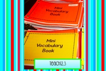 school-vocabulary / by Kerri LeSieur