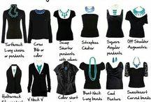 kläder och smink