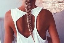 • IF I COULD DO HAIR • / If only I could have hair like this | Hairstyles | Pretty | Braids | Curls | Girly