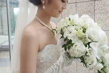 ヘアスタイル / 結婚式の髪型