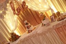 Rosegold esküvő / Nagyon különleges ez a szín! Ha elegáns, kifinomult, akár nagyvilági esküvői dekorációt szeretnél, de az aranyat és az ezüstöt kerülnéd, ez lesz a Te színed.