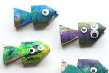 ryby výrobky pro děti