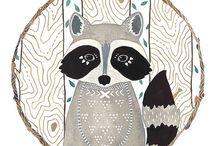 Erdei állatok / woodland