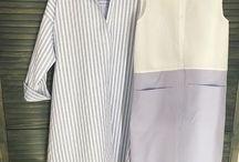 платья рубашки