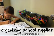 homeschool organization / by Debbie Malerba