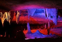 Forbidden Caverns and Other Caves Around the World / The Forbidden Caverns in Sevierville, TN are a magnificent underground attraction that simply demands attention! The stalactites and stalagmites are spectacular sights. Learn more about these caverns and others around the world! Spelunking, anyone?