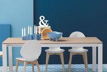 Basil chair / Καρέκλα με ξύλινο η μεταλλικό ποδι σε πολλα χρώματα
