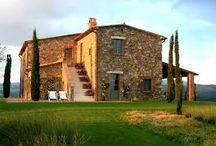 Tuscan Farmhouse / Authentic tuscan farmhouse interiors and ideas for decoration and interior design.