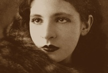 Pagu / Patrícia Rehder Galvão, known by her pseudonym Pagu (June 9, 1910- December 12, 1962) was a Brazilian writer, poet, playwright, journalist and translator. She had a large role in the Brazilian Modernist movement (...) A Communist militant, she was the first woman to be arrested by political motivations.