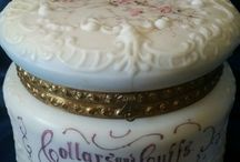 Antique Jewelry and Dresser Boxes