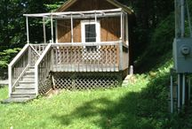 Little house on the mountain / My tiny house on five acres of mountain land in WNC / by Kitty Sanderson