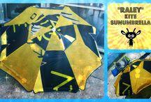 """""""RALEY"""" - Kite Sunumbrella / Ombrellone resistente e adatto alla spiaggia. Adattabile a qualsiasi tipo di ombrello!"""