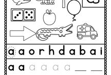 Phonics/alphabet knowledge