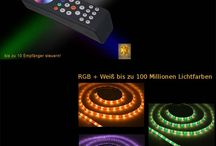 RGB+ Weiß LED Strip Komplettset / RGB+ Weiß LED Strip Komplettset