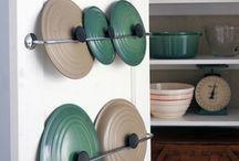 come organizzare la cucina -salvaspazio