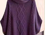 Tejidos sweters ponchos