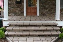 Stone Entryways / by Unique Concrete NJ