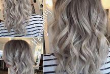 Szare/Siwe Włosy N.N
