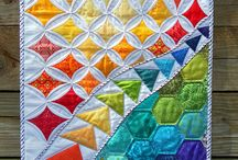 Quilting, patchwork and sewing / by Carrie Hartshorn