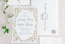 Mollie's Wedding Invites