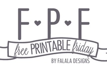 Free Printable's / by Amy Newman