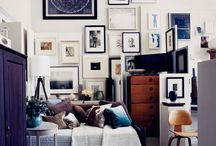 Stylish art display and wall decoration ideas