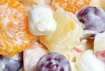 fincsi Gyümölcs saláta