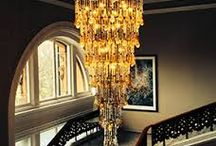 Beautiful Chandeliers / Chandeliers. We install and repair beautiful chandeliers for homes including historic homes and castles.