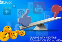Dealing with negative comment on social media / - Social media will give a positive gateway for the company to expose their products but it should be perfect otherwise things go wrong. - When the thing goes wrong, people start posting negatively about your product and the company...http://maxxerp.blogspot.in/2014/01/dealing-with-negative-comment-on-social.html