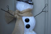 snowmen ideas for mom / by Julie Rash