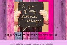 My Blog / Follow my blog http://myfavouritethingssa.wordpress.com