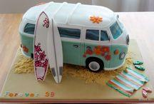 Combi Van birthday theme