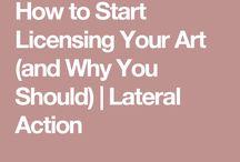 Art licensing for beginners