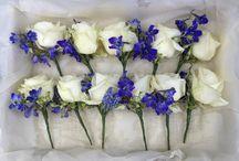 Flowers for Jackie's August wedding / Wedding flowers