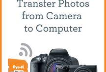 CAMERA / kuvien langaton siirto kamerasta tietokoneelle