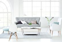 New Neutrals / This season we revert to our new neutrals for the season- that doesn't have to be be just black and white. From the softest blue to the palest pink, these can work well within interiors as a neutral for a room.